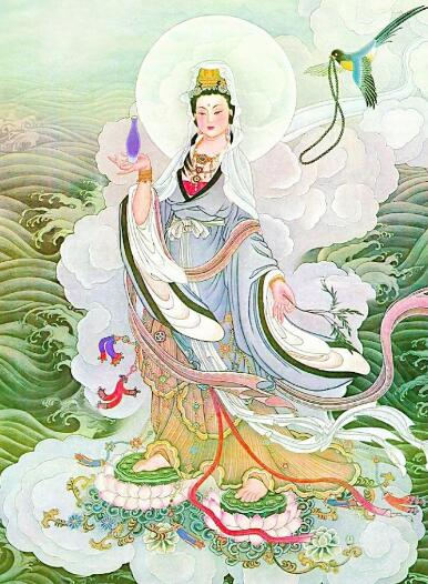 黄文殊菩萨心咒